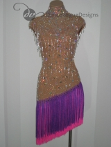 Second Hand Latin Dress 102