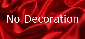 No Decoration
